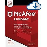 McAfee LiveSafe [PC/Mac Download]