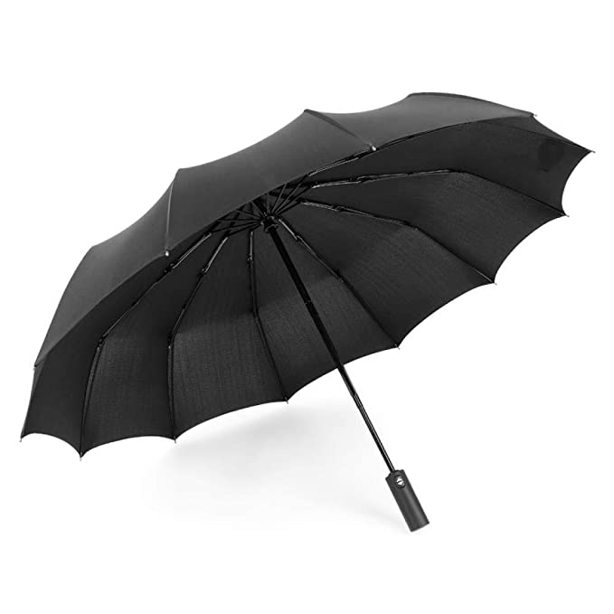 AJIAO Paraguas Tríptico 12 Bone Protector Solar a Prueba de ...
