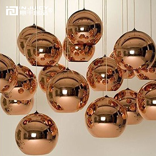 Gold Ball Pendant Light