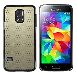 Paccase / SLIM PC / Aliminium Casa Carcasa Funda Case Cover - Simple Pattern 19 - Samsung Galaxy S5 Mini, SM-G800, NOT S5 REGULAR!