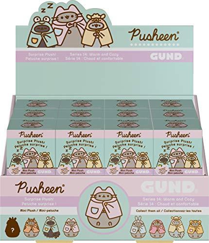 "GUND Pusheen Blind Box Series #14: Warm & Cozy Surprise Mystery Plush, 3"""