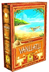 In Vanuatu, you are a Vanuatu an who wants to prosper during the eight turns of the game. In order to prosper, you have to manage with natural resources, rare items, vatus (local currency), and tourists. To earn money or prosperity points, yo...