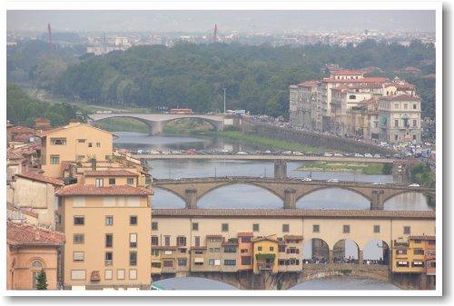 Ponte Vecchio - Florence Italy - NEW World Travel Poster