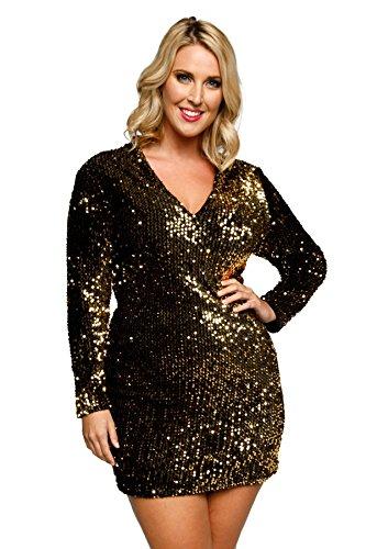 Iridescent Short Dress Cocktail Dress - 5