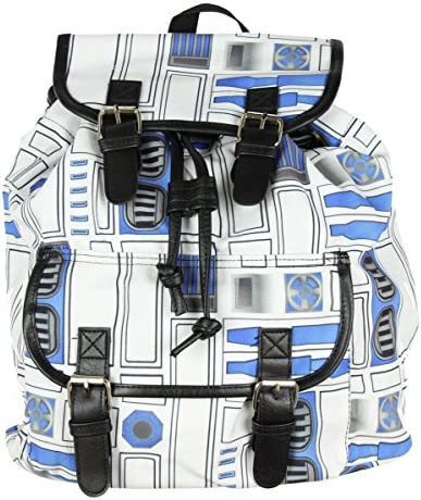 Star Wars R2D2 Print Slouch Backpack