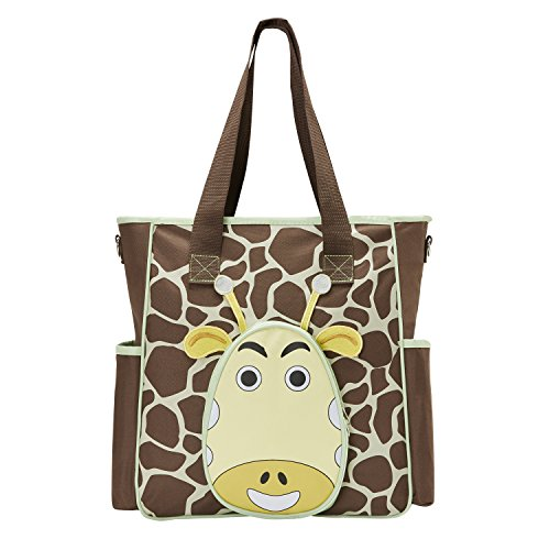 SoHo diaper bag Gavin the Giraffe 10 pcs nappy tote travel b