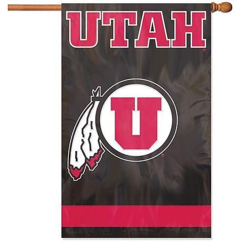 PARTY ANIMAL UTAH UTES APPLIQUE BANNER FLAG