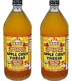 Bragg Usda Organic Raw Apple Cider Vinegar DaCVUo, 32 Fluid Ounce, 2 Pack