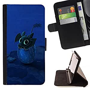 For Apple Iphone 6 PLUS 5.5 Design Happy Cute Dragon Beautiful Print Wallet Leather Case Cover With Credit Card Slots And Stand Function