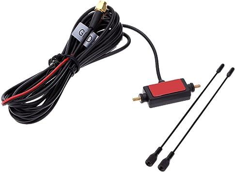Kecheer En coche Digital TV antena con amplificador TDT ISDB ...