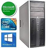 HP Elite 8300 Tower Desktop (Intel Quad Core i5 3.20GHz, 8GB RAM, 500GB HDD, Windows 10 Professional, WiFi, HDMI, Bluetooth) (Renewed)