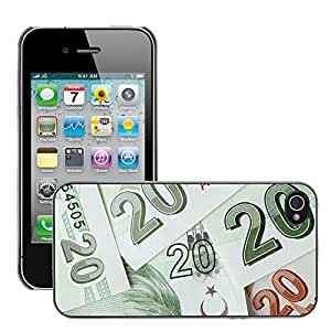 Print Motif Coque de protection Case Cover // M00153628 Antecedentes de billetes Bucks Negocio // Apple iPhone 4 4S 4G