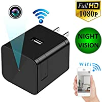 NEW 2018 Home Security Camera Wifi Camera Nanny Pet Baby Office Monitoring Nursing Cam Night Vision Camera with Motion Detector Wireless Ip Camera System Small Cameras Wifi Usb Wall Charger Camera