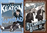 Buster Keaton Ultimate Collection - Steamboat Bill, Jr. (Ultimate 2-Disc Edition) & The Saphead (Ultimate Edition) 3-DVD Bundle