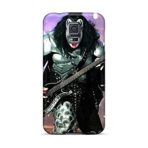 ErleneRobinson Samsung Galaxy S5 Shock Absorbent Cell-phone Hard Cover Customized Realistic Kiss Band Pictures [oYe16730hfmG]