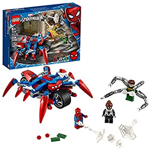 LEGO Marvel Spider-Man: Spider-Man vs. Doc Ock 76148 Superhero Playset with 3 Minifigures, Great Toy Gift for Kids, New…