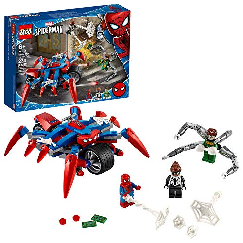LEGO Marvel Spider-Man: Spider-Man vs. Doc Ock 76148 Superhero Playset with 3 Minifigures, Great Toy Gift for Kids, New 2020 (234 Pieces) from LEGO