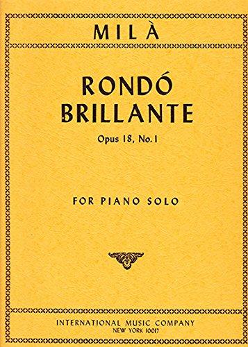 MILA L. - Rondo Brillante Op.18 nº 1 para Piano pdf