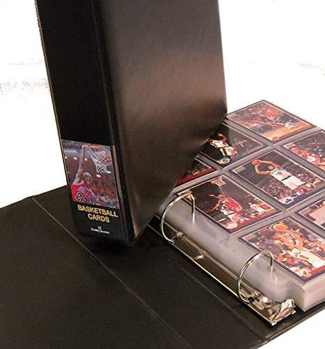 - Hobbymaster Basketball Card Album with 25 Pages, Black Michael Jordan Design (BlackJordan)