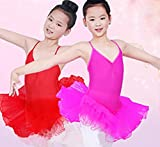 Toddler Baby Girls V Neck Strap Ballet Tutu Slim