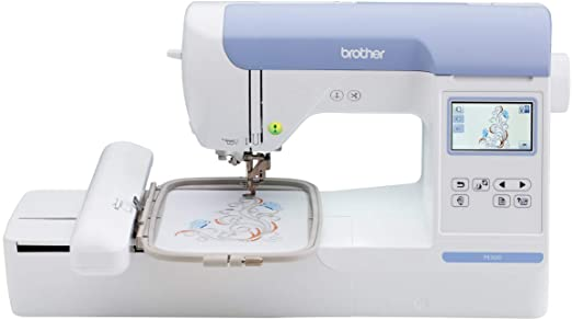 Brother PE800 - Máquina de coser (talla única), color blanco ...