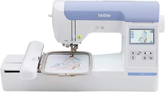 Brother PE800 - Máquina de coser (talla única), color blanco ...