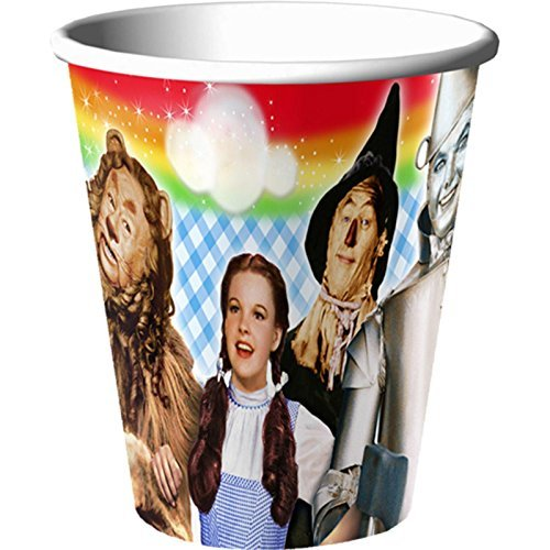 Hallmark The Wizard of Oz 9oz Paper Cups]()
