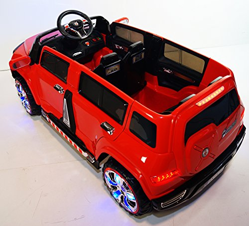 Rideonecar New 4 Doors Battery Operated Ride On Toy Car