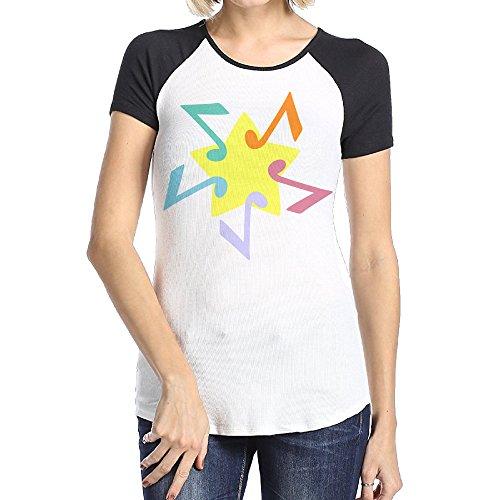 femalesfashion-music-star-raglan-t-shirts-for-ladies-size-m