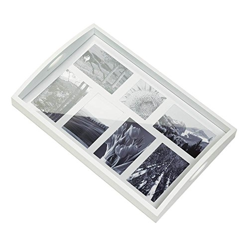Tray Frame Photo - Gallery of Light Inc Multi-Photo Frame Wood Tray