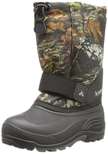 [Kamik Rocket Cold Weather Boot (Toddler/Little Kid/Big Kid),Camoflage,7 M US Big Kid] (Boys Boots Sale)