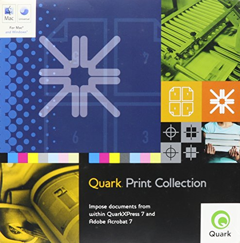 Quark Print Collection Full Qpc for Mac/win [Old Version], used for sale  Delivered anywhere in USA