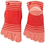 Injinji Performance Yoga Original Micro CoolMax Toe Socks-Coral-Small