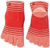 Injinji Performance Yoga Original Micro CoolMax Toe Socks-Coral-Large