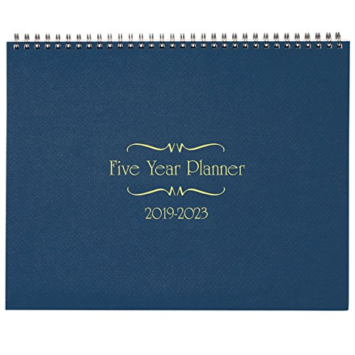 5 Year Calendar Diary 2019-2023 Blue by Miles Kimball