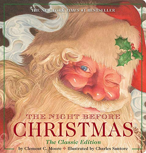 The Night Before Christmas Oversized Padded Board Book: The Classic Edition (13) (Twas The Night Before Christmas Original Poem)