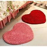 Simple And Creative Kitchen Bedroom Anti-Slip Doormat heart 60 * 70cm