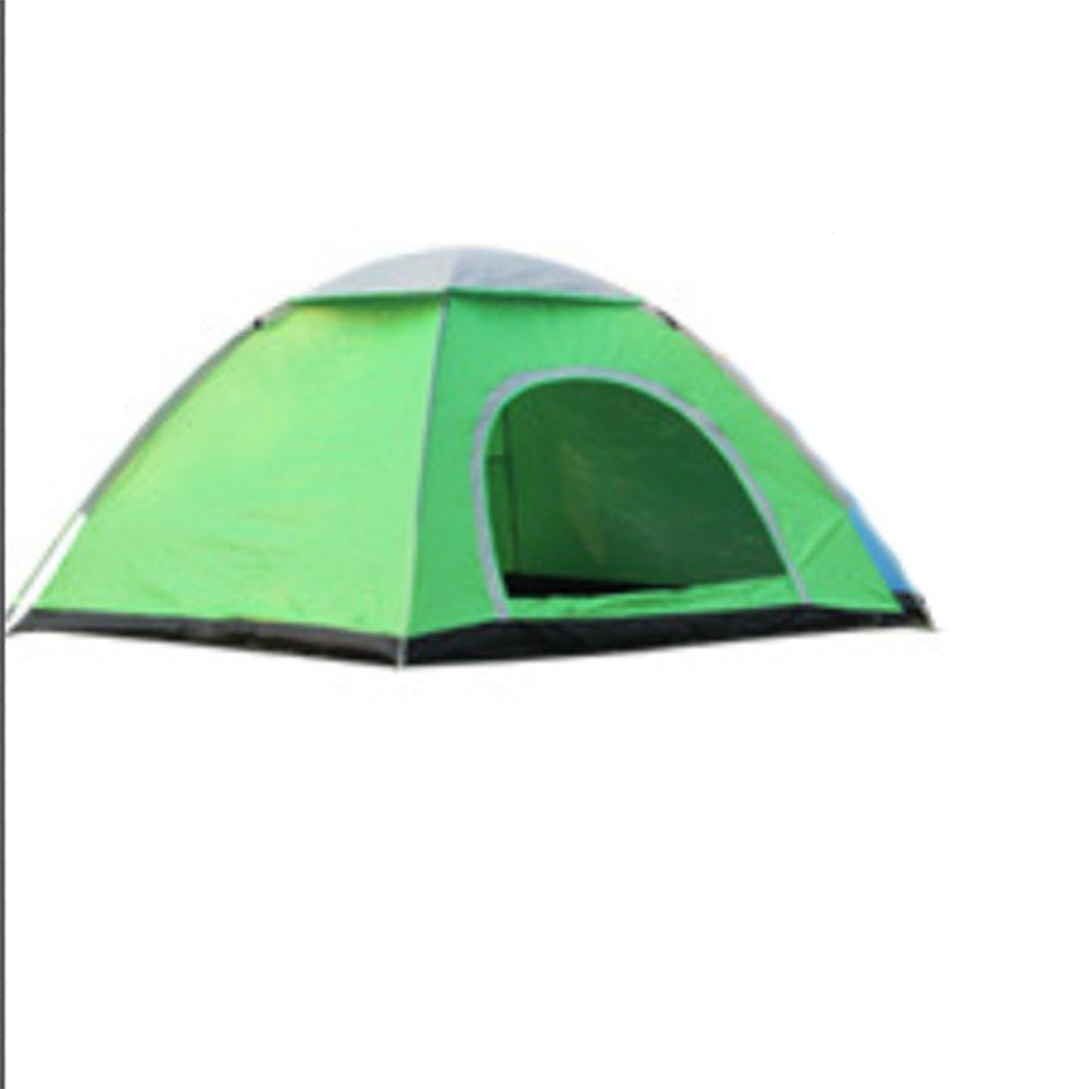 Leichte Automatische Single Layer Outdoor Speed Open 3-4 Personen Wasserdicht Campingzelt