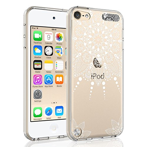 iPod Touch 6 Case, iPod Touch 5 Case, SYONER [Scratch Resistant] Ultra Slim Clear Phone Case Cover for iPod Touch 5th / 6th Generation (Clear Plastic Ipod Case)