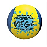 Wave Runner Mega Ball #1 Water Ball for Skipping and Bouncing The Perfect Pool Ball and Ocean Ball (Yellow)