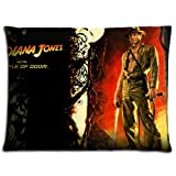 size Fade Resistant Polyester - Cotton Bedding Pillow Protector Case Indiana Jones and the Temple of Doom 20x26 inch 50x66 cm