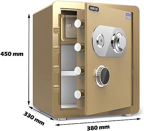 Caja Fuerte Caja de Almacenamiento de Cerradura de combinación mecánica pequeña, Segura y de Estilo Antiguo Cerradura de Acero Anti-perforación Difícil de descifrar 6 Estilos (Color : Color 1): Amazon.es: Electrónica