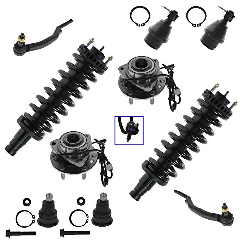 Suspension Front Assembly Kit Set 10pc for Buick Chevy GMC Isuzu Oldsmobile Saab ()