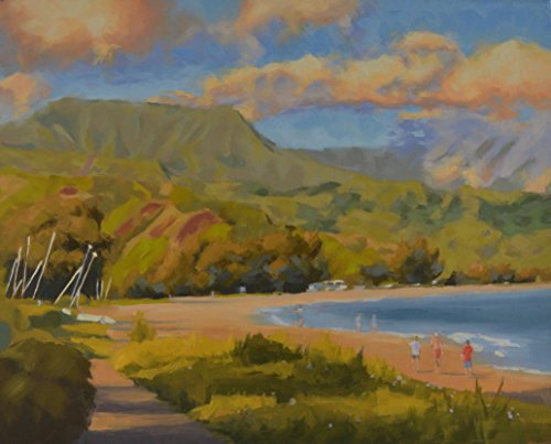 A Day at Hanalei Bay by