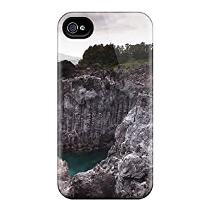 New Arrival Case Specially Diy For Touch 4 Case Cover (amazing Rock Formation On Rugged Coast)
