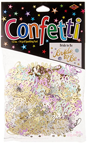 Beistle CN119 Bride to be - Bridal Shower Confetti