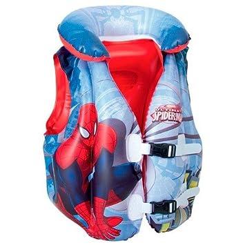Takestop® Chaleco Spider Man Chaleco flotador 48 x 46 cm) Niños Infantil Natación Piscina Chaqueta Chaqueta Baby Seguridad Rescate: Amazon.es: Electrónica
