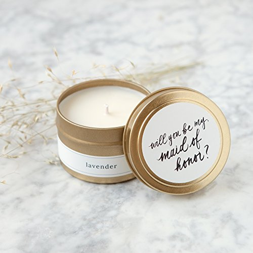 Poured Pure Soy Travel Candle -