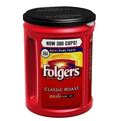 Folgers Classic Roast Ground Coffee - 48 oz (Pack of 2) by Folgers