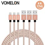 Lightning Cable, 3Pack 6FT Tangle-Free Nylon Braided Cord Review and Comparison